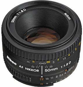 Nikon 50/1.8 D