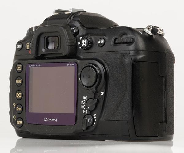 Nikon D200 back 2