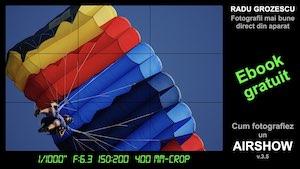 Ebook cum fotografiez un airshow, coperta