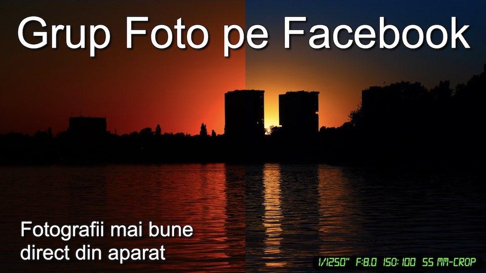 Grup foto pe Facebook