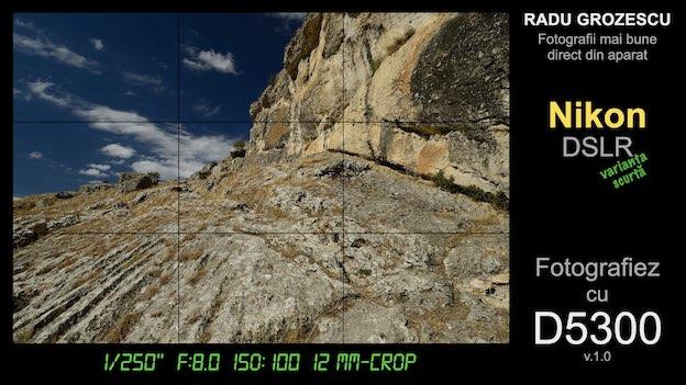 Ebook foto - Fotografiez cu D5300 - varianta scurtă pentru Nikon DSLR