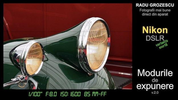 Ebook foto: Modurile de Expunere - varianta scurtă pentru Nikon DSLR